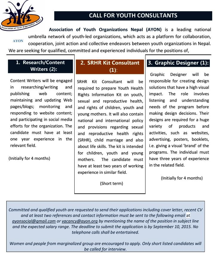 AYON call for youth consultants_August 2015-page-001